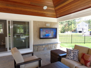 Outdoor TV Installation