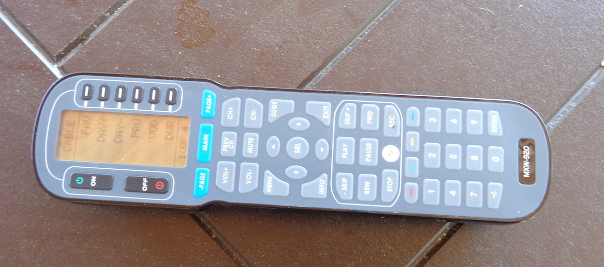 all in one remote control setup